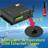 Multipoint Temperature GSM Ethernet Logge