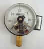 Naite Black Electric contacts pressure gauge