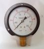 Naite Black Pressure gauge with flange