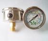 Naite liquid filled pressure gauge