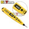 New AC/DC 12-250V Digital LCD Display Voltage Test Pen Wholesale