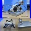 New Dental Binocular Loupes 3.5X 320mm Optical Glass Loupe + LED Head Ligh Lamp