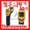 Non-Contact Infrared Digital IR Thermometer Laser Point 380 Degrees