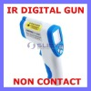 Non contact forehead ir thermometer infrared digital laser gun thermometer