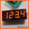 Panel Temperature LED Display With Red Lighting