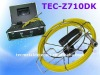 Pipe Camera Inspection With DVR and Keyboard TEC-Z710DK