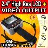 Pipe Car Inspection BORESCOPE Video 2.4LCD Camera AVI