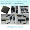 Portable notebook/laptop battery charger With four LED lights
