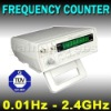 Precision Frequency Counter 0.01 Hz - 2.4 GHz