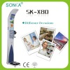 SK-X80-016 Multi-functional Ultrasonic Height Weight Measuring Machine