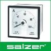 Salzer Brand Analog AC Ammeter Meter 240DEG