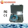 Schroder upscale professional pipeline tunnel chimney inspection camera SD-1016