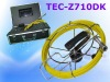 Sewer Plumbing Inspection Camera TEC-Z710DK with 20m/30m/40m Cable