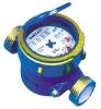 Single jet Wet type Water Meter