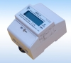 Single phase multi function Din-rail meter with pass through