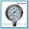 Stainless steel capsule low pressure gauge