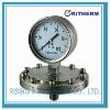 Stainless steel diaphragm gauge