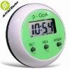 Stick-On Dosing or Job Reminder Alarm Clock, Available in 12 to 24 Hours Version