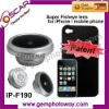 Super fisheye lens mobile phone accessory lens for iphone IP-F190 contact lens
