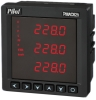Three phase AC current meter