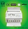 Three phase Two Tariff DIN RAIL energy meter
