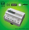 Three phase din rail electronic smart meter (pass through)