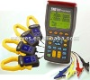 Three phase power analyzer with Current Clamp