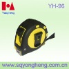 Three stops rubber injection case measuring tape