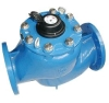 Vertical removable element woltman type water meter
