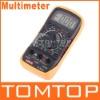Voltmeter 600v Ohmmeter LCD Ammeter Digital Multimeter
