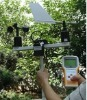 Wireless wind speed and direction analyser