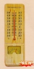 Wooden Thermometer-Hygrometer