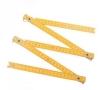 Wooden folding ruler
