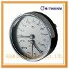 bimetal thermo-manometer