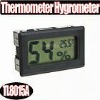 digital lcd temperature -40---70Humidity 10% RH-95% Hygrometer Thermometer