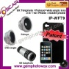 fisheye wide angle 9X telephoto mobile phone accessory camera accessory contact lens