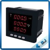 intelligent volatge meter with rs485 communication
