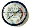 iron case & glass dial Pressure Gauge