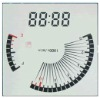 lcd display for the car dashboard