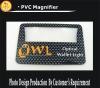 plastic magnifier card