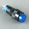 pushbutton switch with blue led