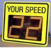 solar speed sign