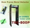 walk through metal detector with remote controller TEC-800P
